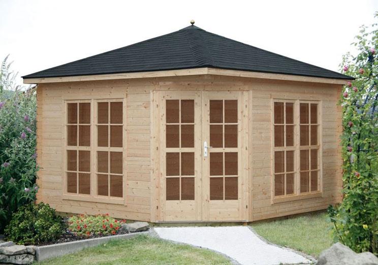 Venta de caseta de jard n modelo victoria c 40 mm for Casetas de jardin con suelo