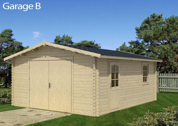 Venta de garaje de madera modelo b - Garaje de madera ...